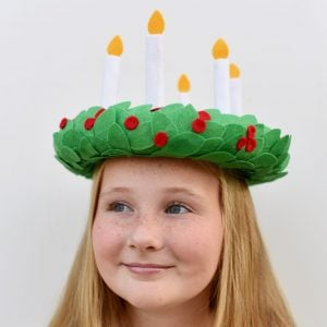 How to Make a Stunning St. Lucia Crown with Cricut