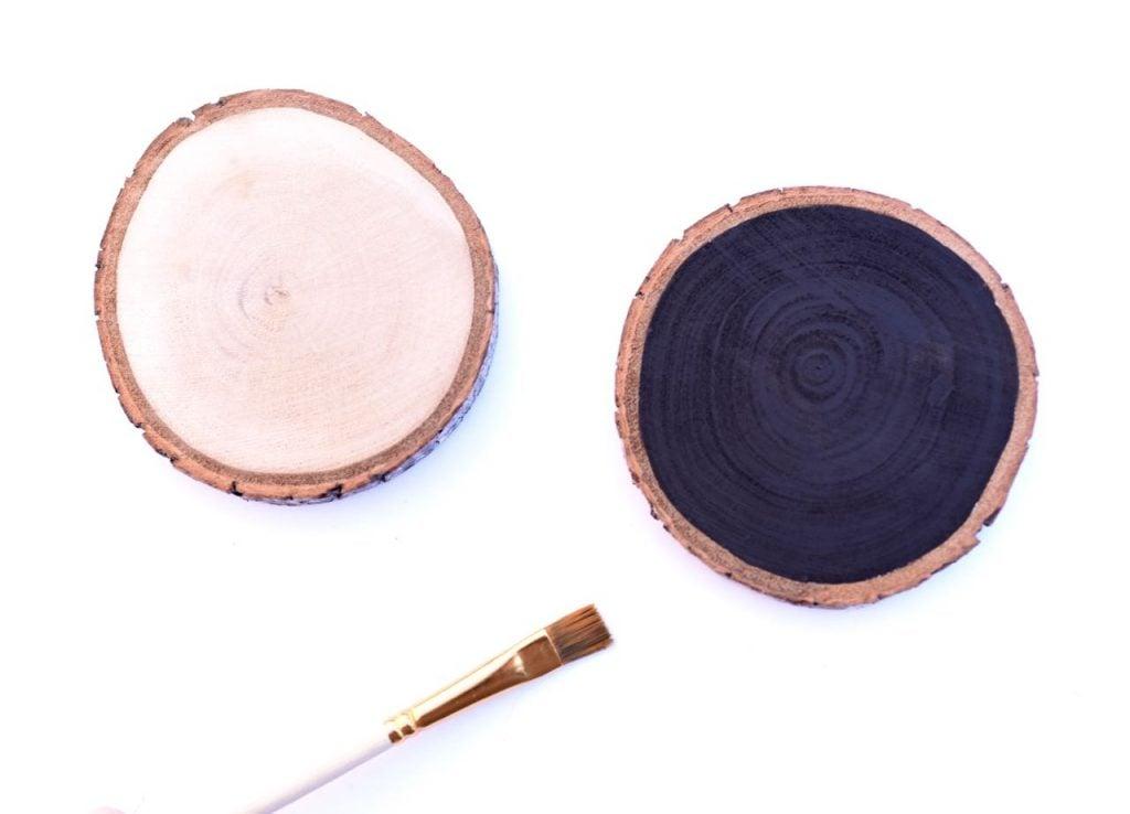 Wood slices DIY