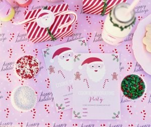 How to Plan the Ultimate Christmas Cookie Decorating Party + FREE Printables!
