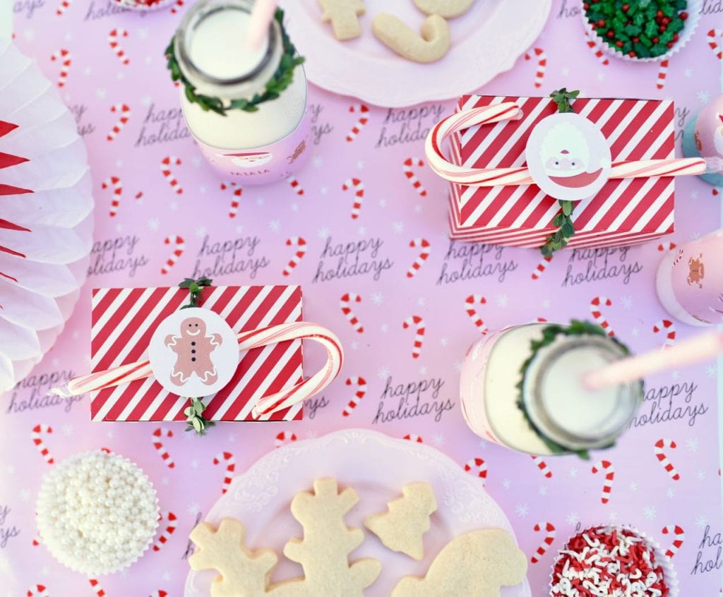 Kids Christmas cookie decorating party ideas