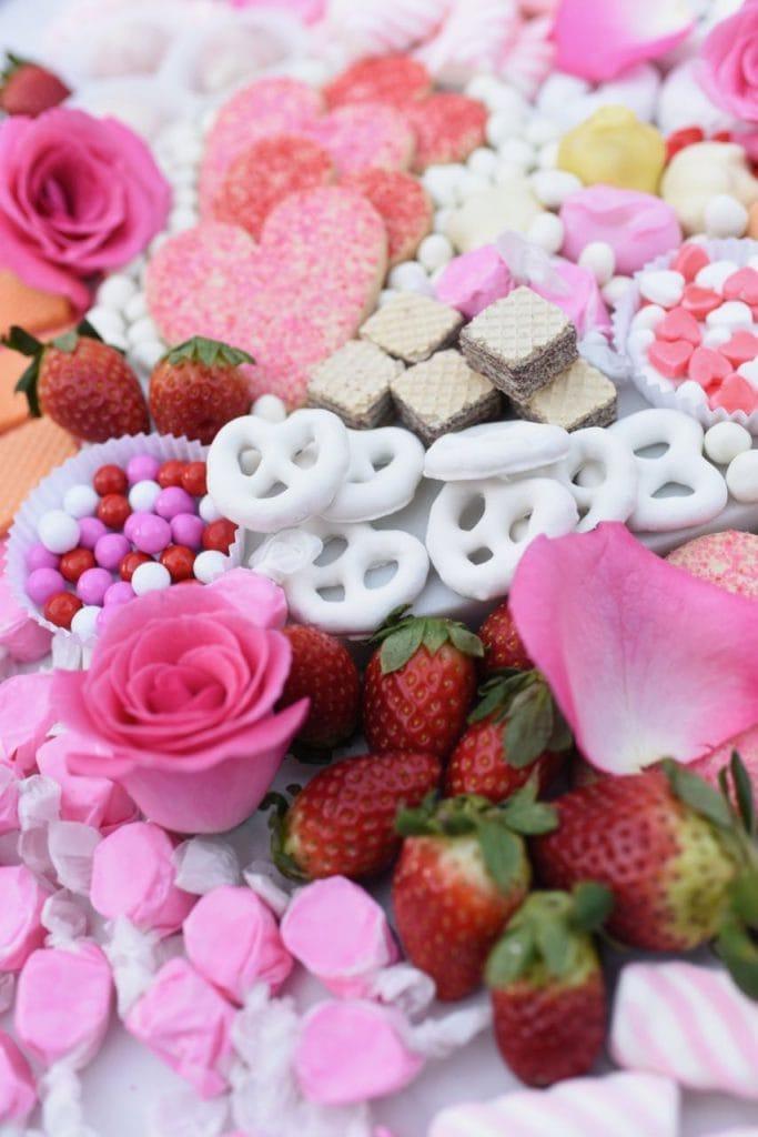 Dessert platter ideas for Valentine's Day