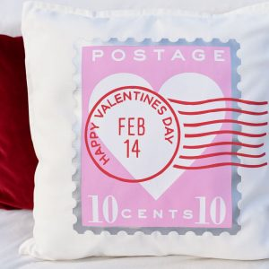 Make Valentine Pillow Covers in Under an Hour with Cricut