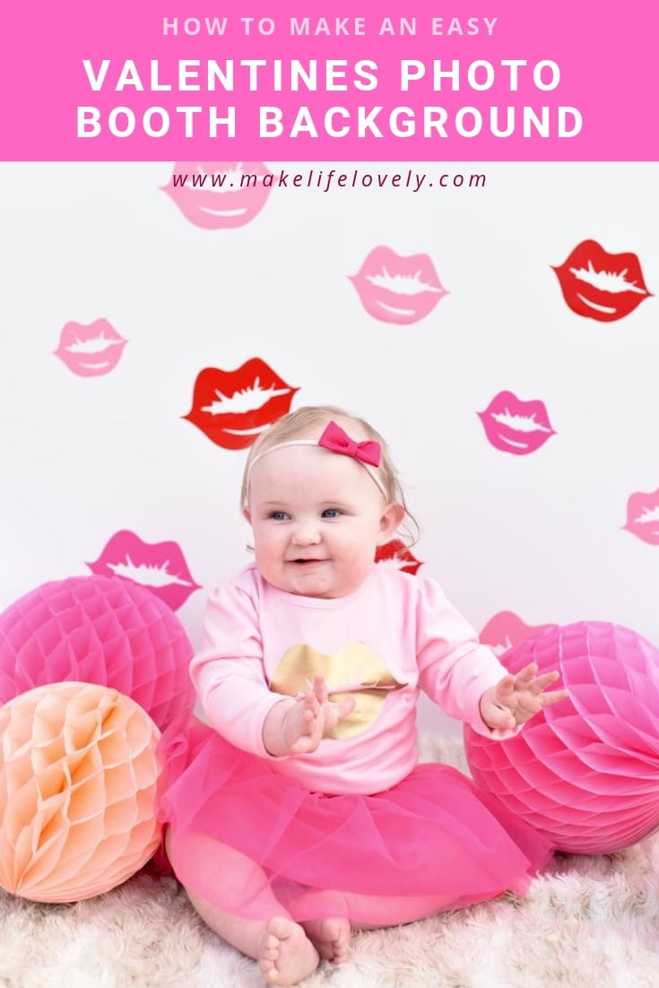 a774413f7 How to Make a Valentines Photo Booth Background