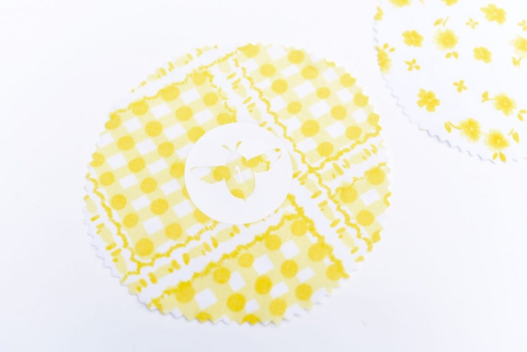 DIY jar lids from fabric