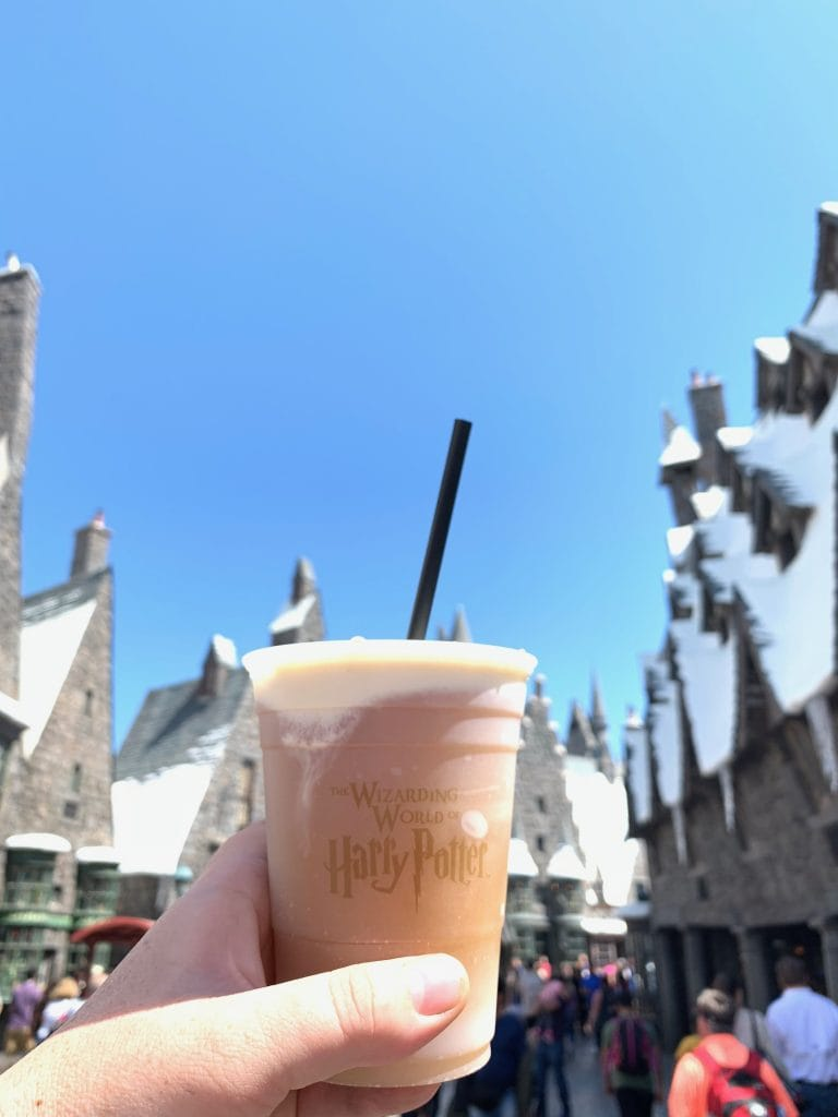 Butterbeer at Wizarding World of Harry Potter Hollywood