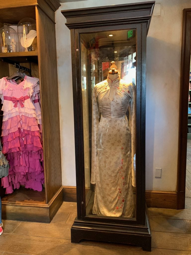 Cho Chang's Dress at Universal Studios Hollywood