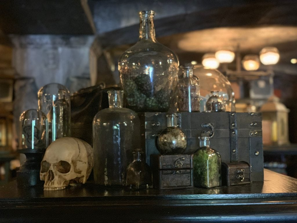 Harry Potter merchandise at Wizarding World of Harry Potter