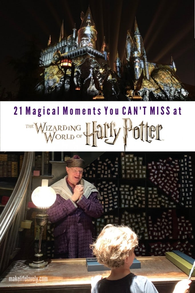 Headed to Hogwarts? Check out these 21 magical moments you CAN'T MISS at The Wizarding World of Harry Potter.