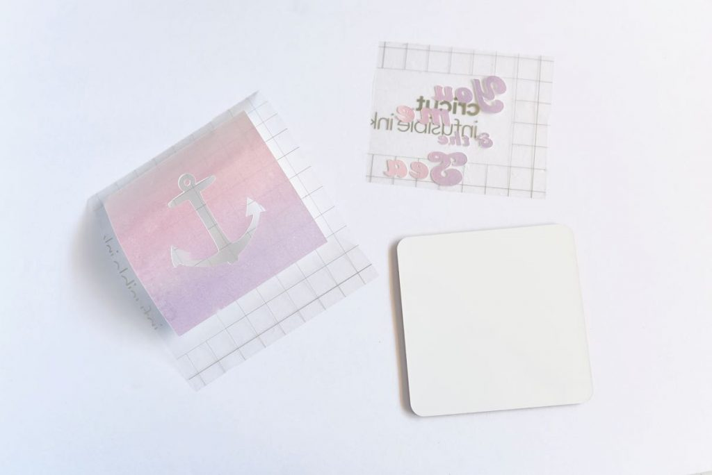 How to make coasters with Infusible Ink