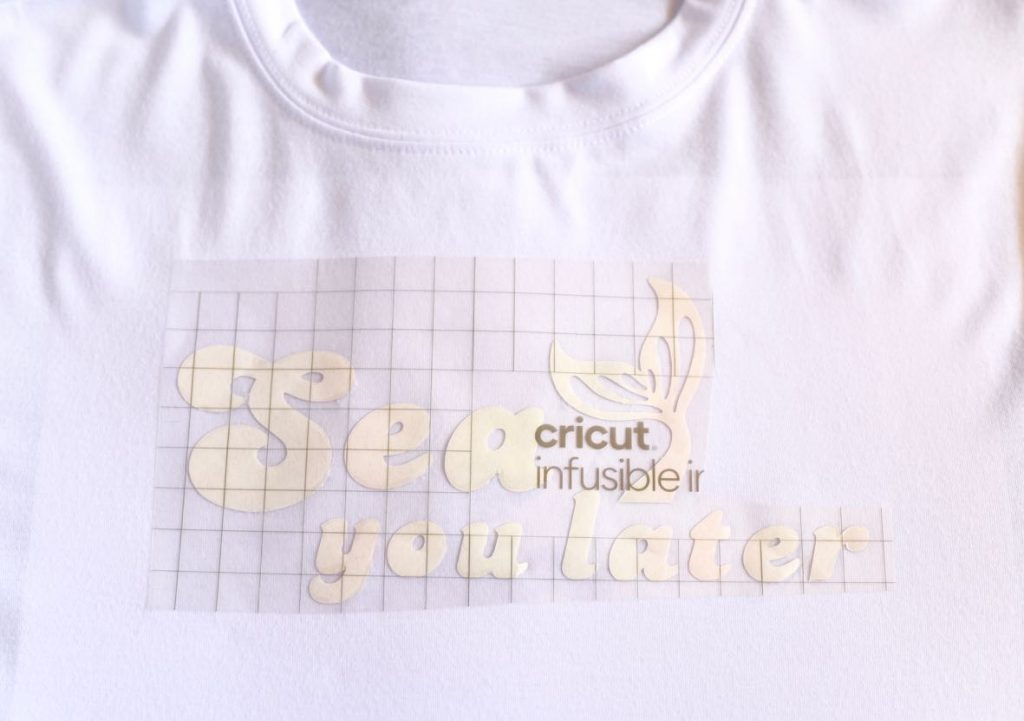 Infusible Ink t-shirt tutorial
