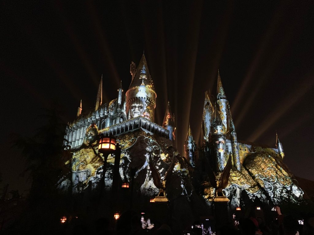 The Dark Arts at Hogwarts Castle at The Wizarding World of Harry Potter