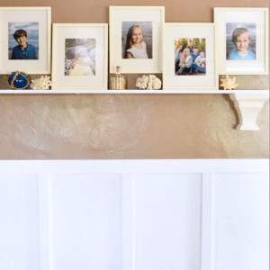 How to create an easy board and batten wall on the cheap