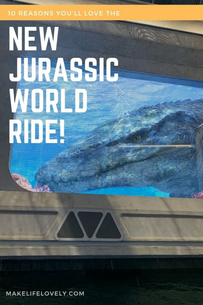 10 Reasons you'll love the new Jurassic World Ride at Universal Studios Hollywood. The effects are incredible!