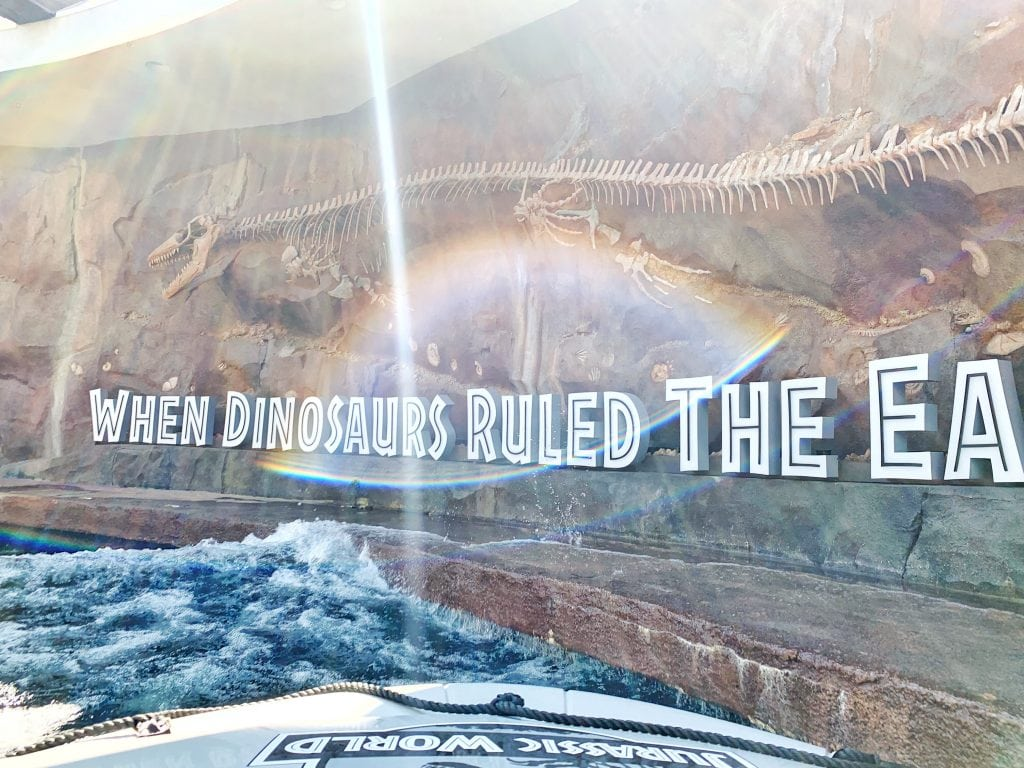 Jurassic World the ride opening date