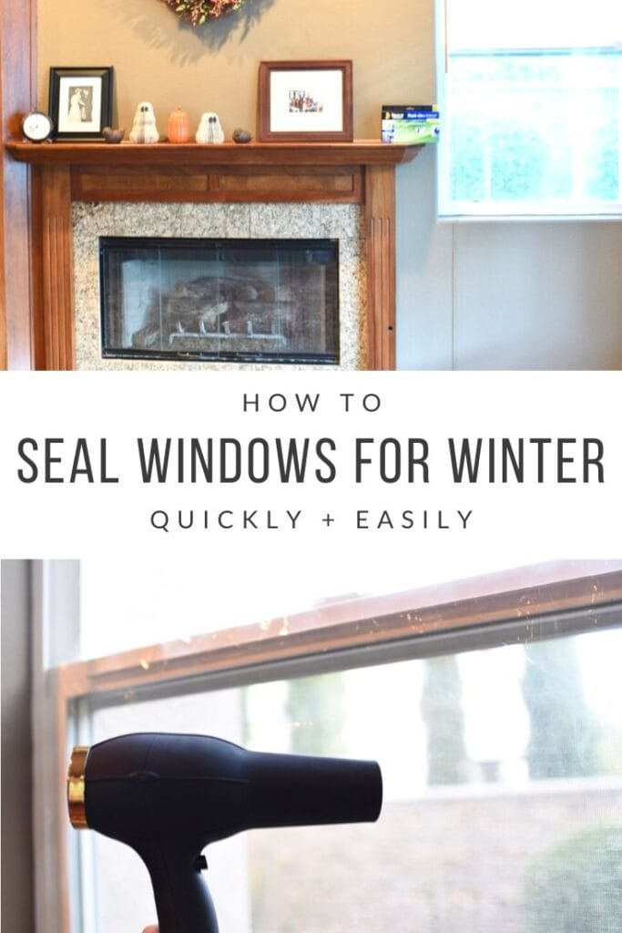 How to seal windows for winter quickly and easily