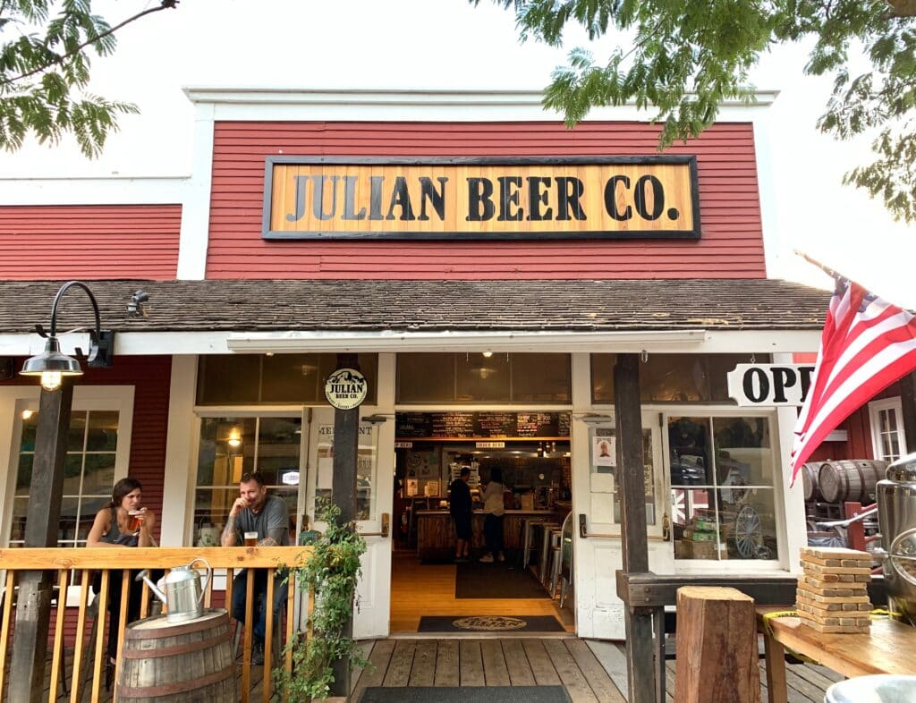 Julian Beer Co. in Julian CA