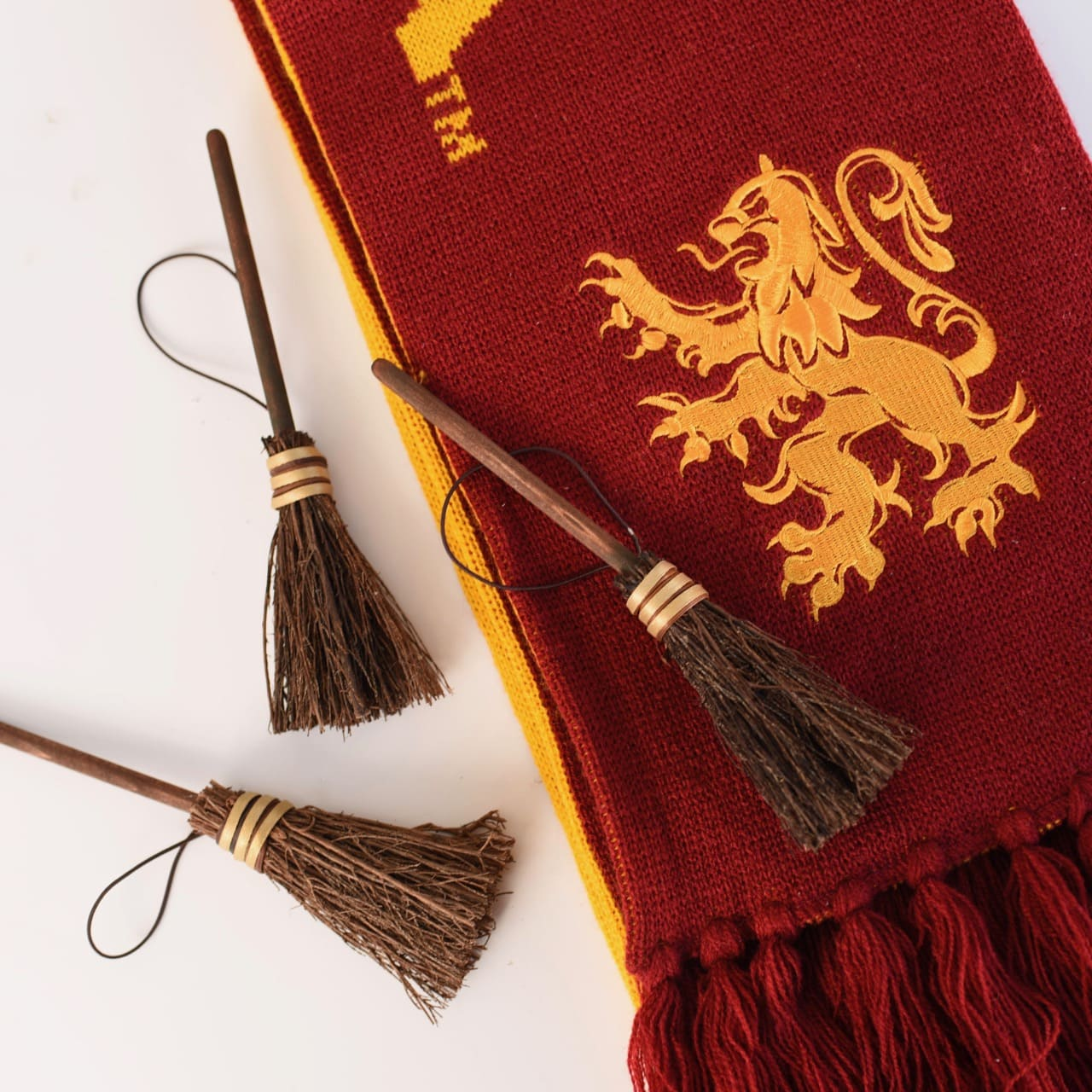 How to Make Adorable DIY Harry Potter Broom Ornaments