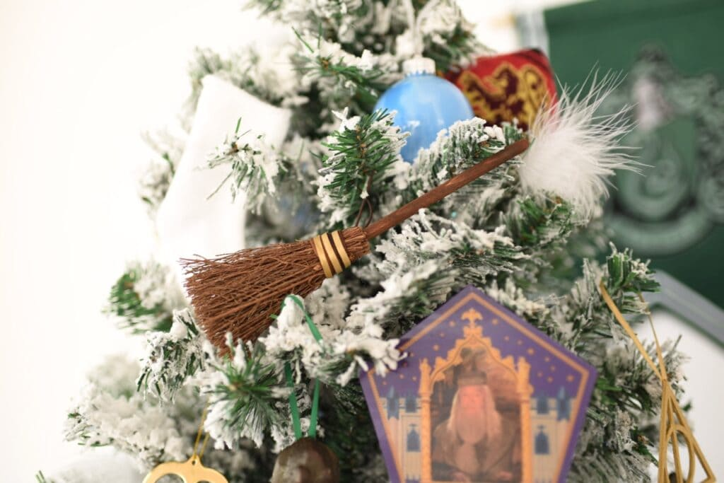 Harry Potter Christmas broom