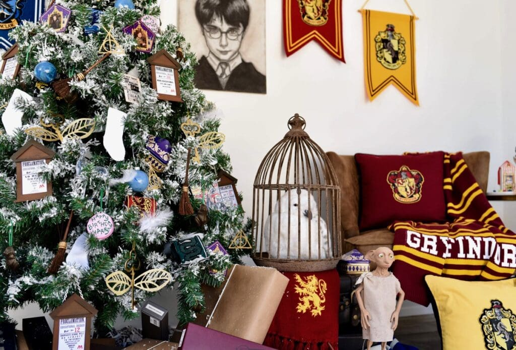 Harry Potter Christmas decorations