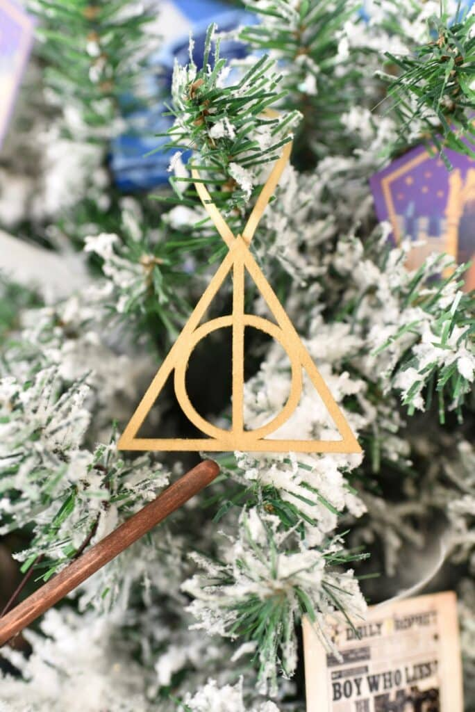 Harry Potter deathly hallows ornament