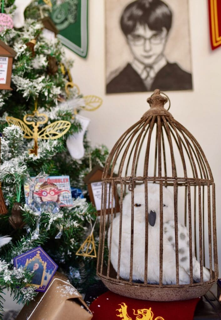 Hedwig Harry Potter Christmas decorations