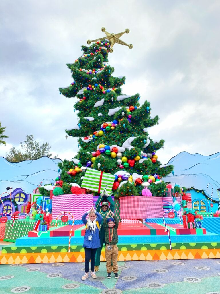 Universal Studios Hollywood Christmas