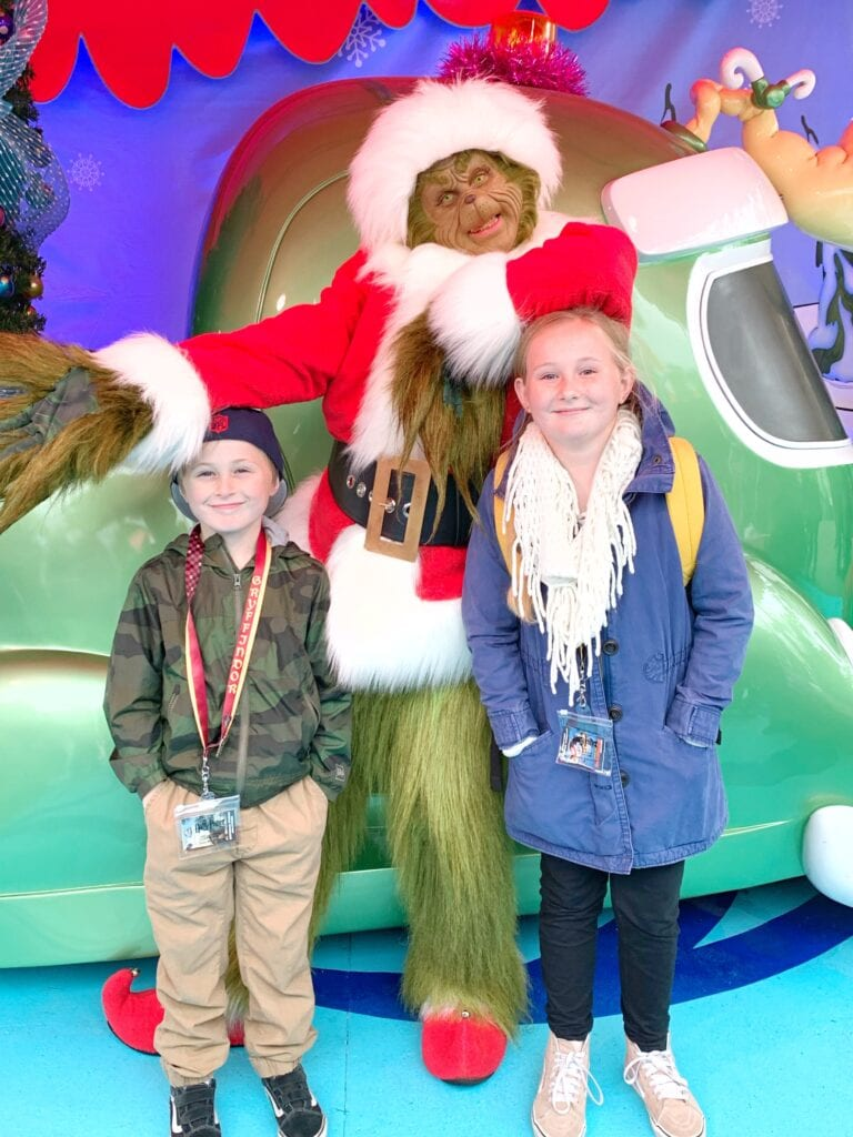 Universal Studios Hollywood Grinch