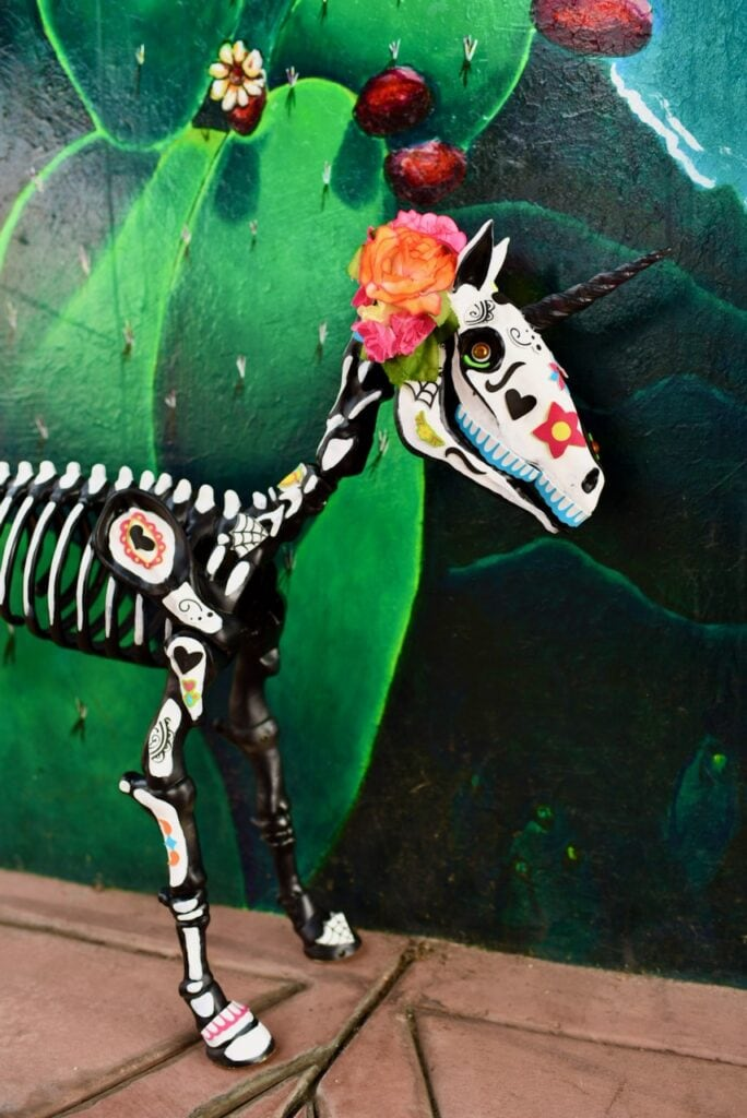 Day of the Dead animals skeleton DIY