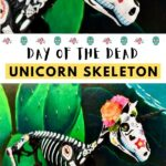Day of the Dead unicorn skeleton DIY