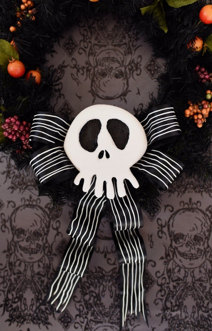 Nightmare Before Christmas Wreath Diy To Make For Halloween