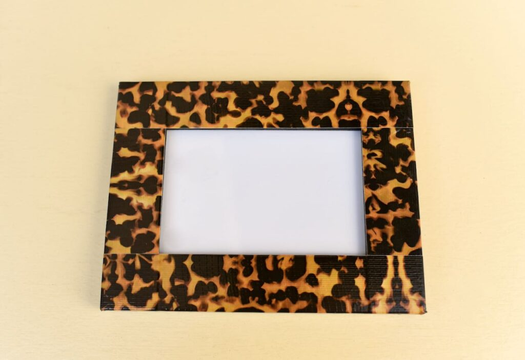 tortoise shell frame with duck tape