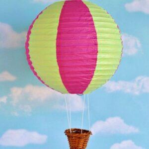 hot air balloon paper lantern