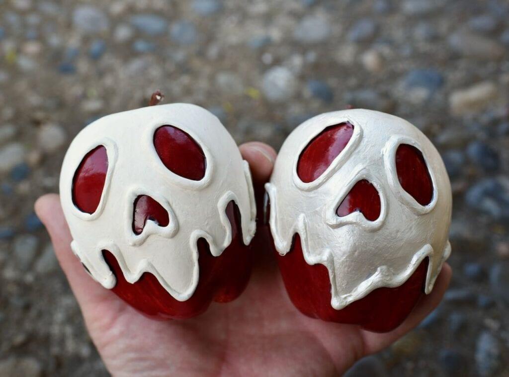 white Snow White apple