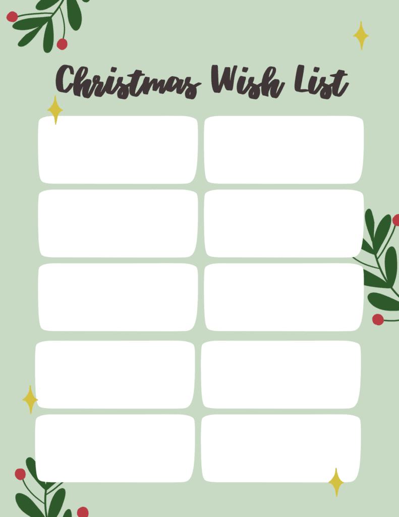 grown up wish list for Christmas